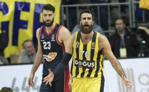 Фенербахче върви уверено в плейофите на Евролигата