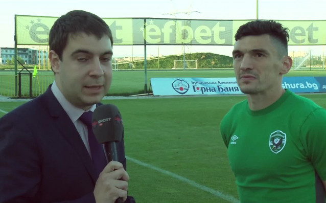 Голмайсторът на Лудогорец Клаудиу Кешеру коментира победата с 4:2 над
