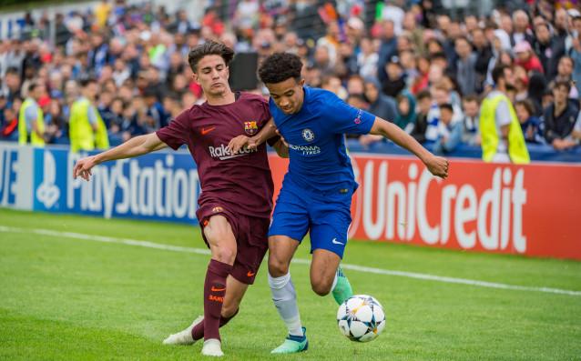 Барселона триумфира в младежката Шампионска лига. Каталунците не оставиха никакви