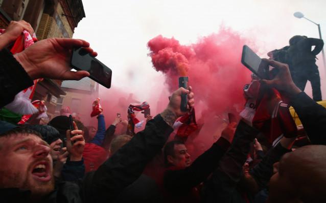 Ливърпул и Рома играят от 21.45 своя първи полуфинал в