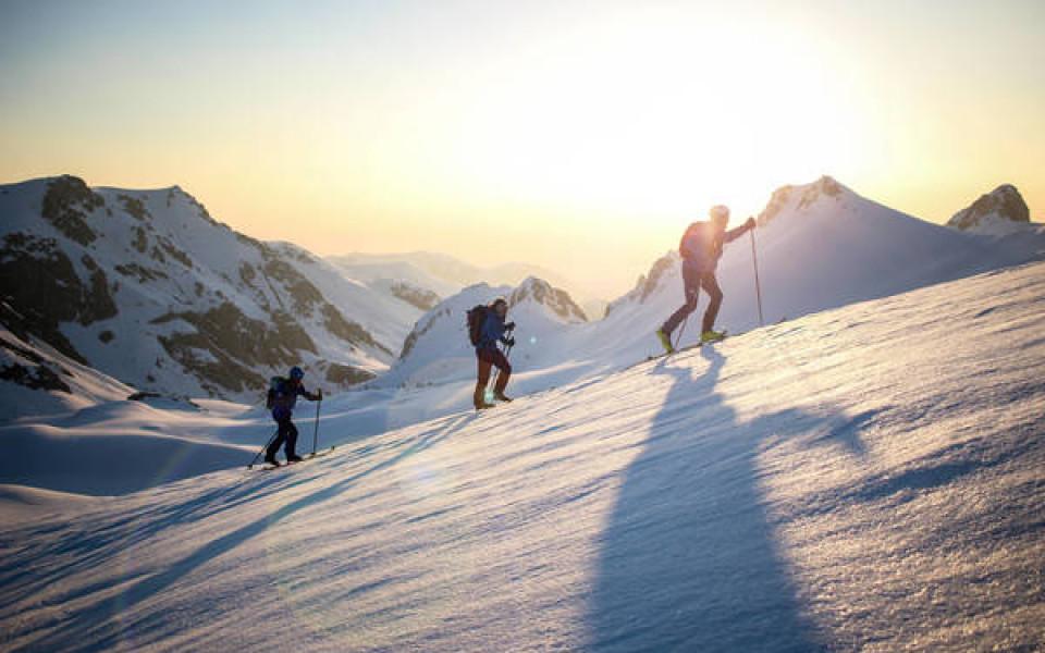 От Австрия до Франция пеша и със ски за 36 дни