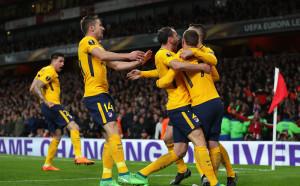Мъка за Арсенал в последния европейски мач на Арсен Венгер на Емиратс