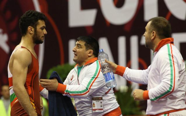 Тарек Абделсалам<strong> източник: bul-wrestling.org</strong>