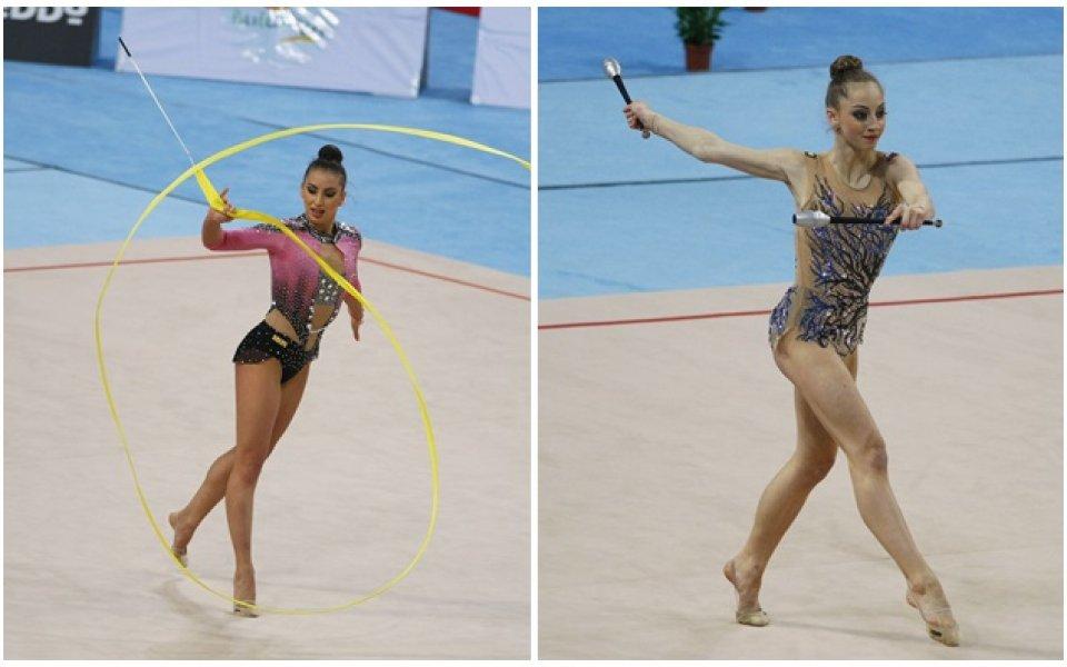 Тасева и Калейн носят два сребърни медала от финалите в Баку