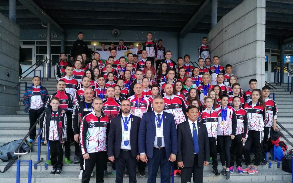 Невероятно представяне на България на Европейското по Таекуон-До ITF