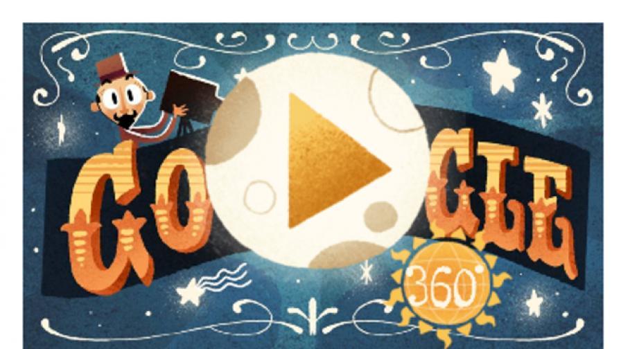 Google почита един от големите френски кинотворци