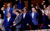 Фенът на Реал Рафа Надал вика за Атлетико