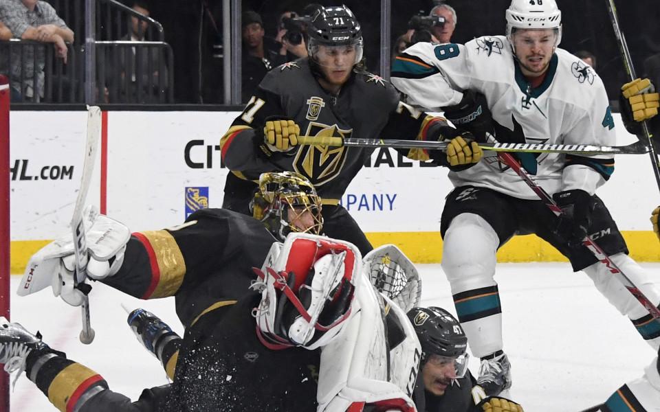 Лас Вегас поведе в серията срещу Сан Хосе в НХЛ
