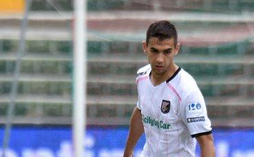 Чочев поигра за Палермо в дербито за върха на Серия Б