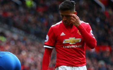 Санчес пропусна последната тренировка на Юнайтед преди двубоя с Ювентус