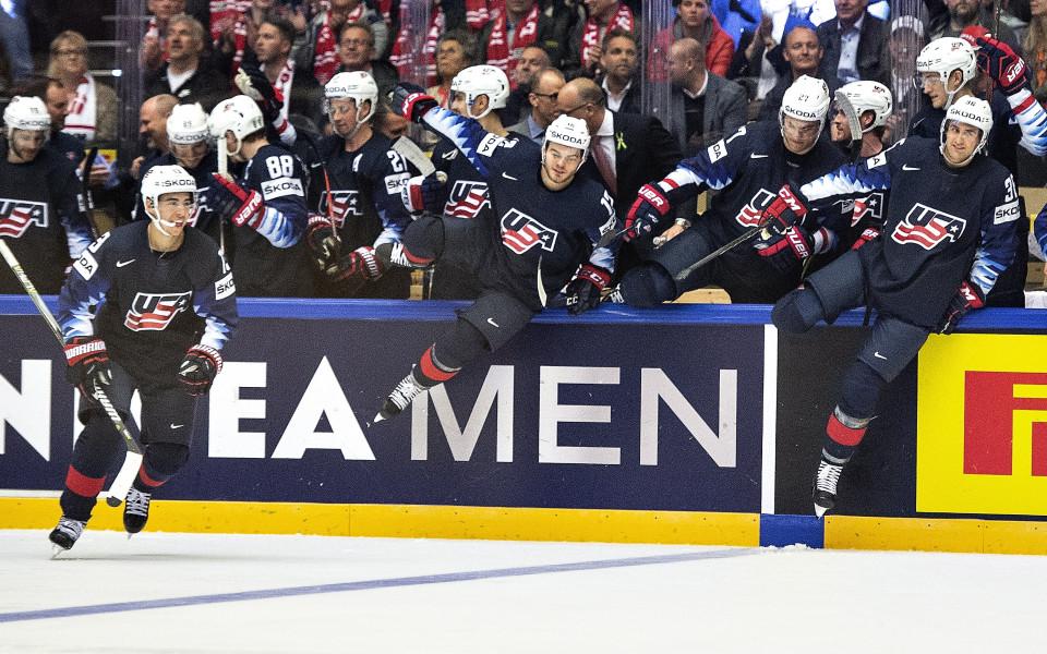 САЩ разгроми Южна Корея на световното по хокей