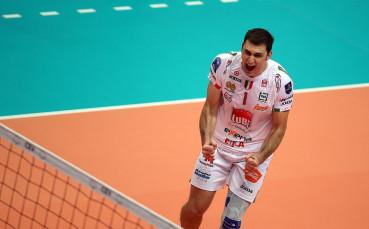 Кучине Лубе и Цветан Соколов постигнаха шести успех в Италия