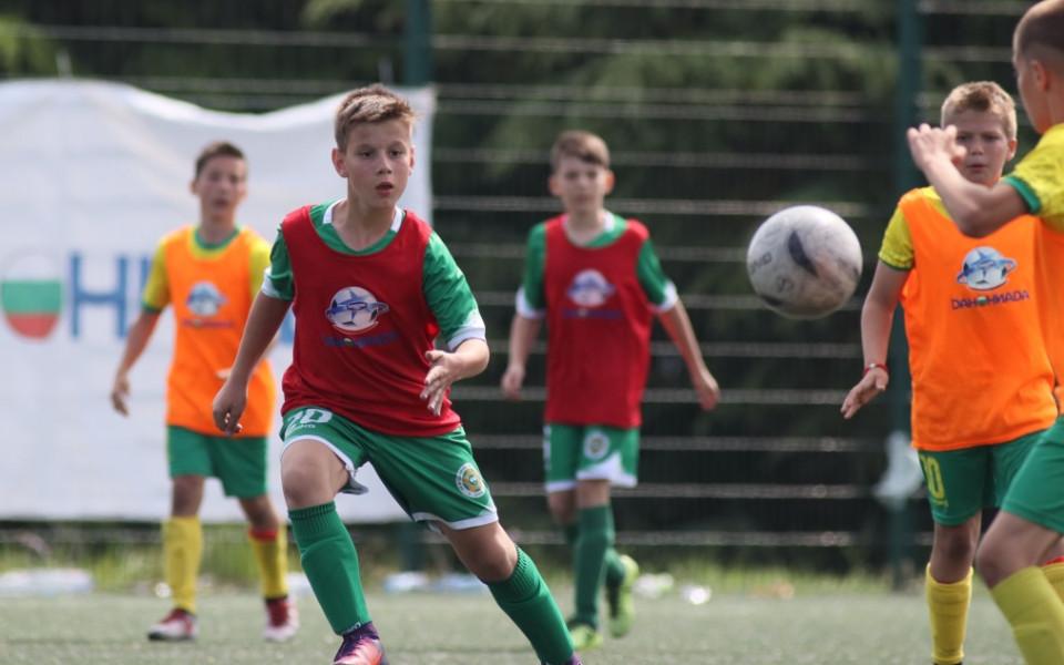 Добруджа Добрич се открои на финала на зона Варна в Данониада 2018