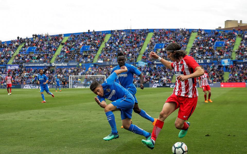 Атлетико Мадрид си гарантира второто място в Ла Лига