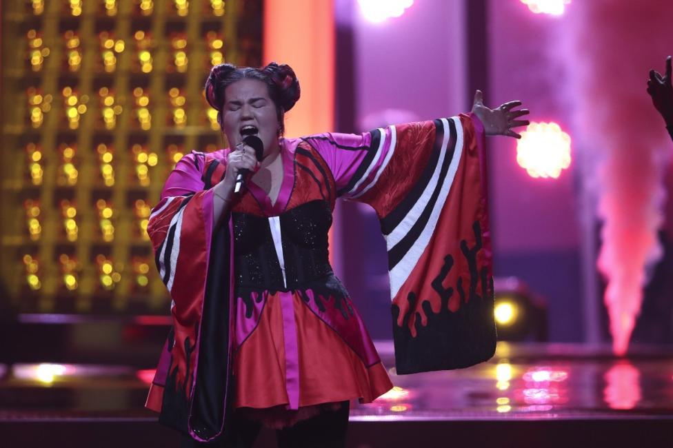 """- Победителката на """"Евровизия"""" 2018, Нета Барзилай от Израел"""