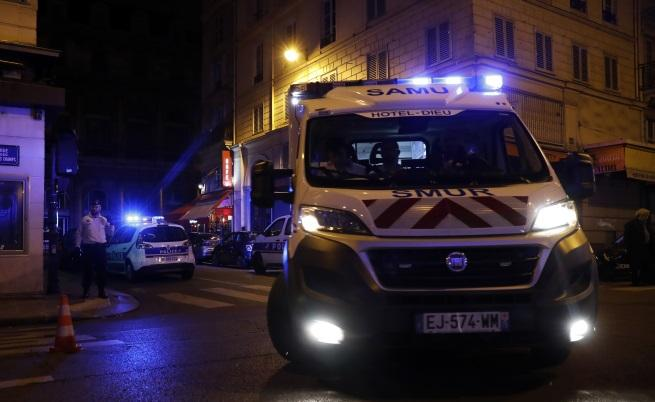Терористично нападение в центъра на Париж