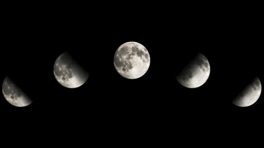 Гответе се за лунното затъмнение на века