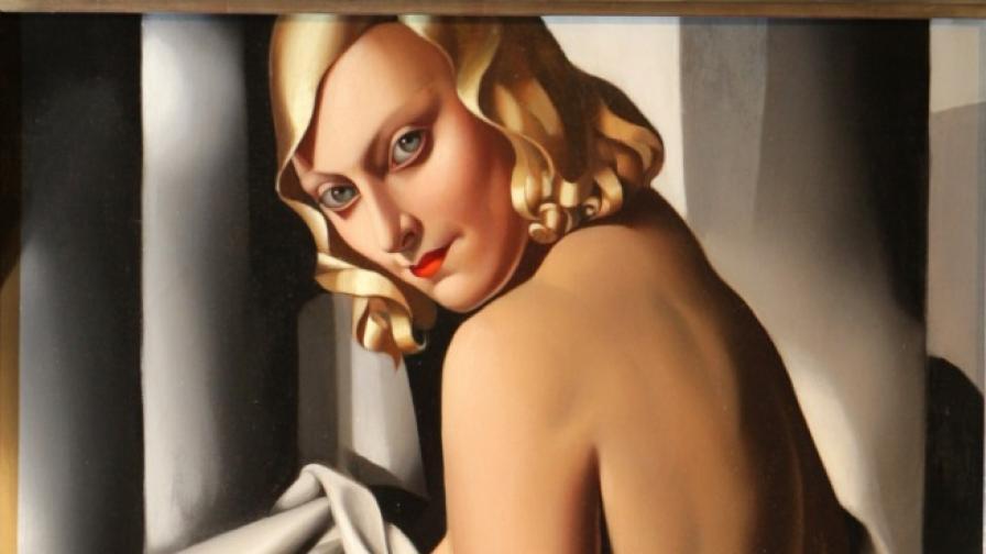 Google ни припомня за красивата и скандална Тамара де Лемпицка