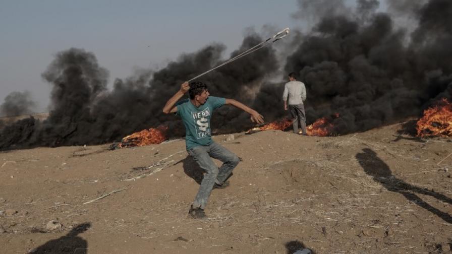 Празненства в Йерусалим, кръв в Газа