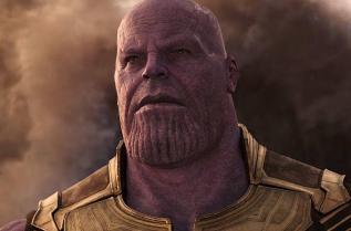 Джош Бролин в ролята на Танос
