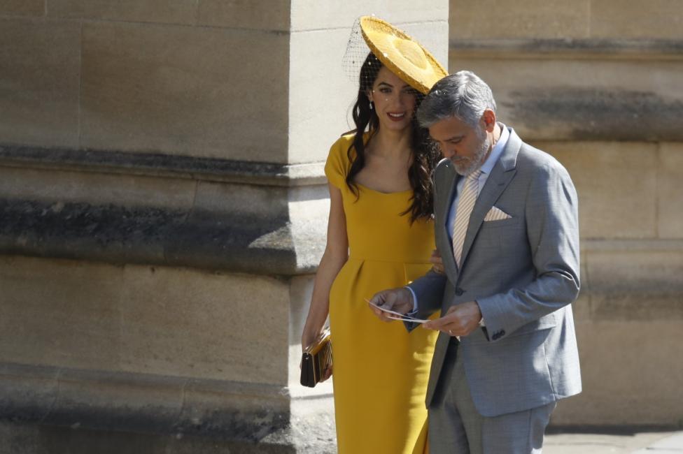 - Джордж и Амал Клуни