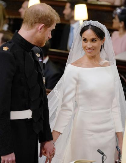 <p>Ексклузивни кадри от цялата сватбена церемония на Хари и Меган</p>