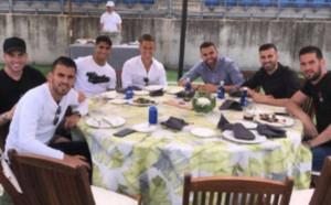 Реал повтори обичая: Барбекю преди финала в Шампионска лига