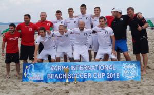 Руският Новатор спечели международния турнир по плажен футбол във Варна