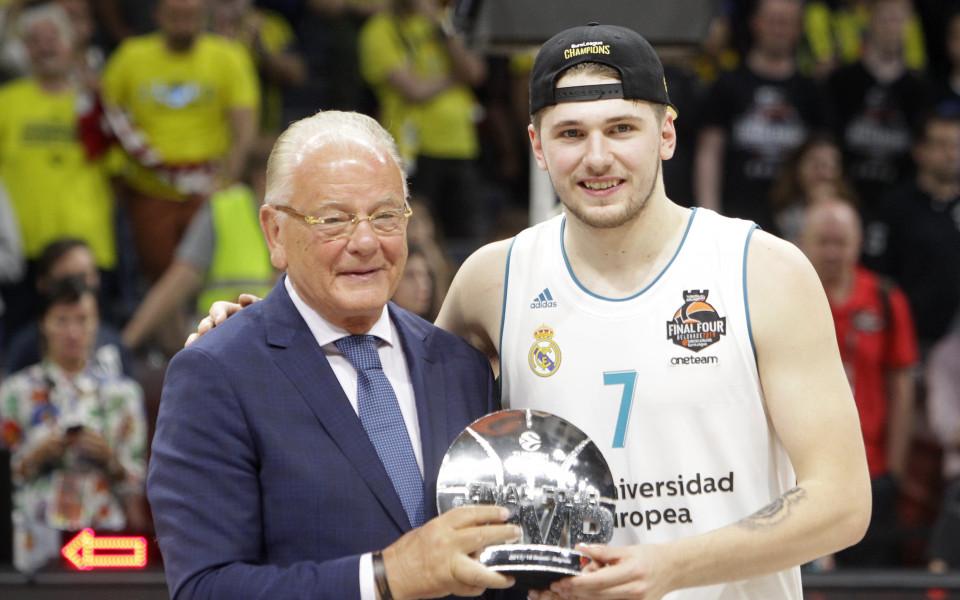 Лука Дончич взе приза за №1 във Финалната четворка