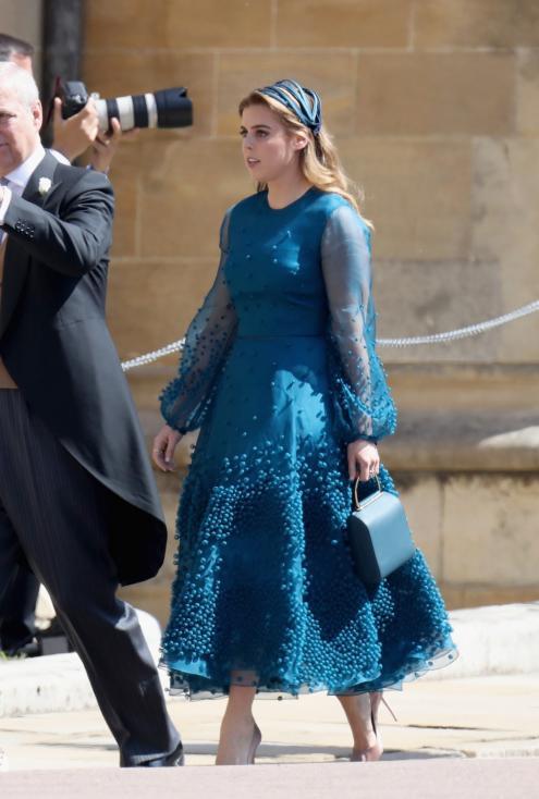 - Братовчедката на Уилям и Хари - принцесата на Йорк Беатрис