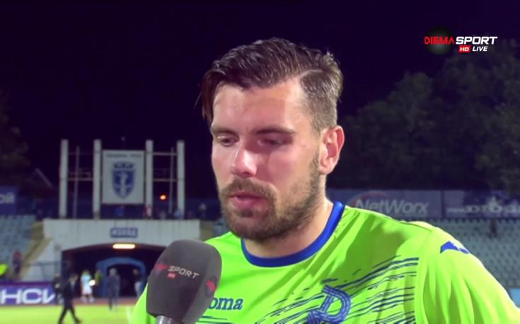 Луков през сълзи: Моята грешка провали отбора