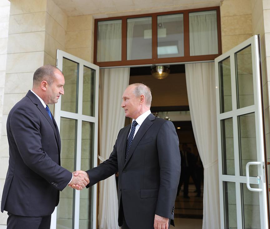 - Срещата на президента на България Румен Радев с президента на Руската федерация Владимир Путин в Сочи. В началото на разговорите Радев поздрави Путин...