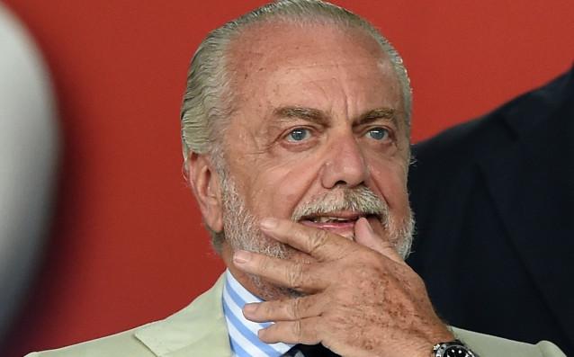 Президентът на Наполи Аурелио де Лаурентис окончателно е взел решение