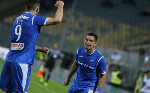 Левски и Черно море играят при резултат 2:1в мача на