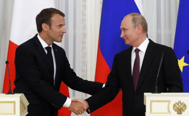 Макрон към Путин: Искам да закрепя Русия в Европа