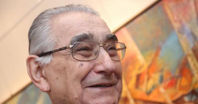 Почина големият български художник и общественик академик Светлин Русев. Той