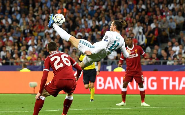 Снимка: Двусмислица от Бейл хвърли в смут феновете на Реал