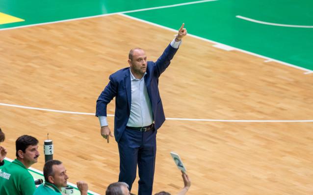 Наставникът на БК Левски Лукойл Константин Папазов коментира втория успех