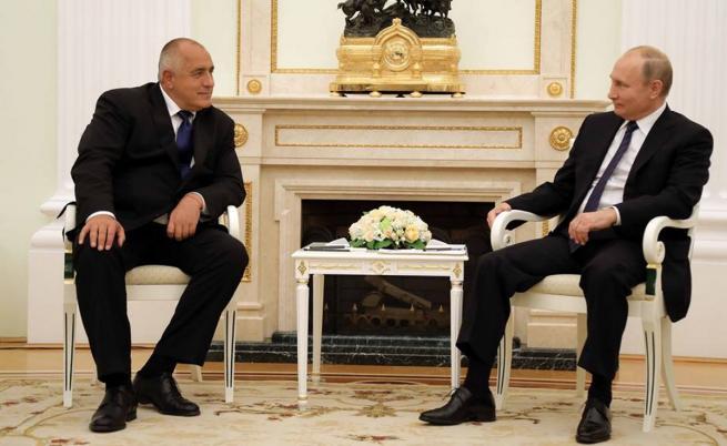 """Борисов и Путин се договориха за """"Турски поток"""""""