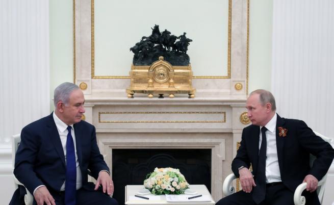 Застава ли Израел между Русия и Иран