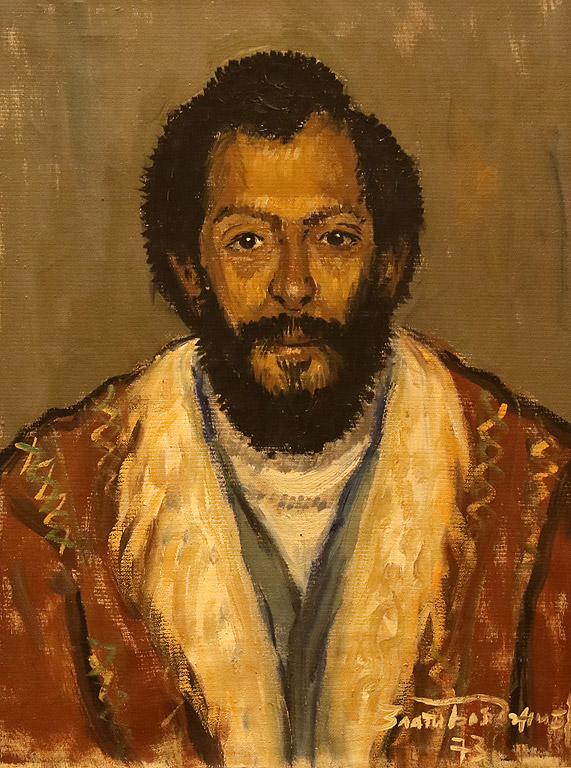 Портрет на сина на художника, 1973