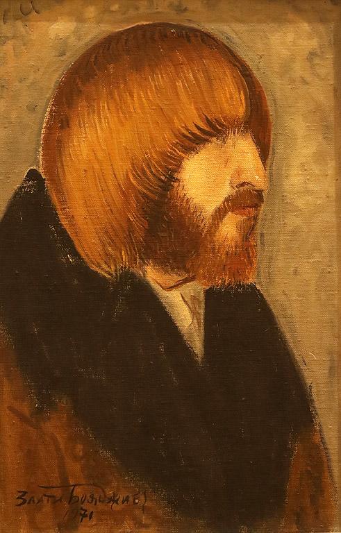 Мъжки портрет, 1971 г.