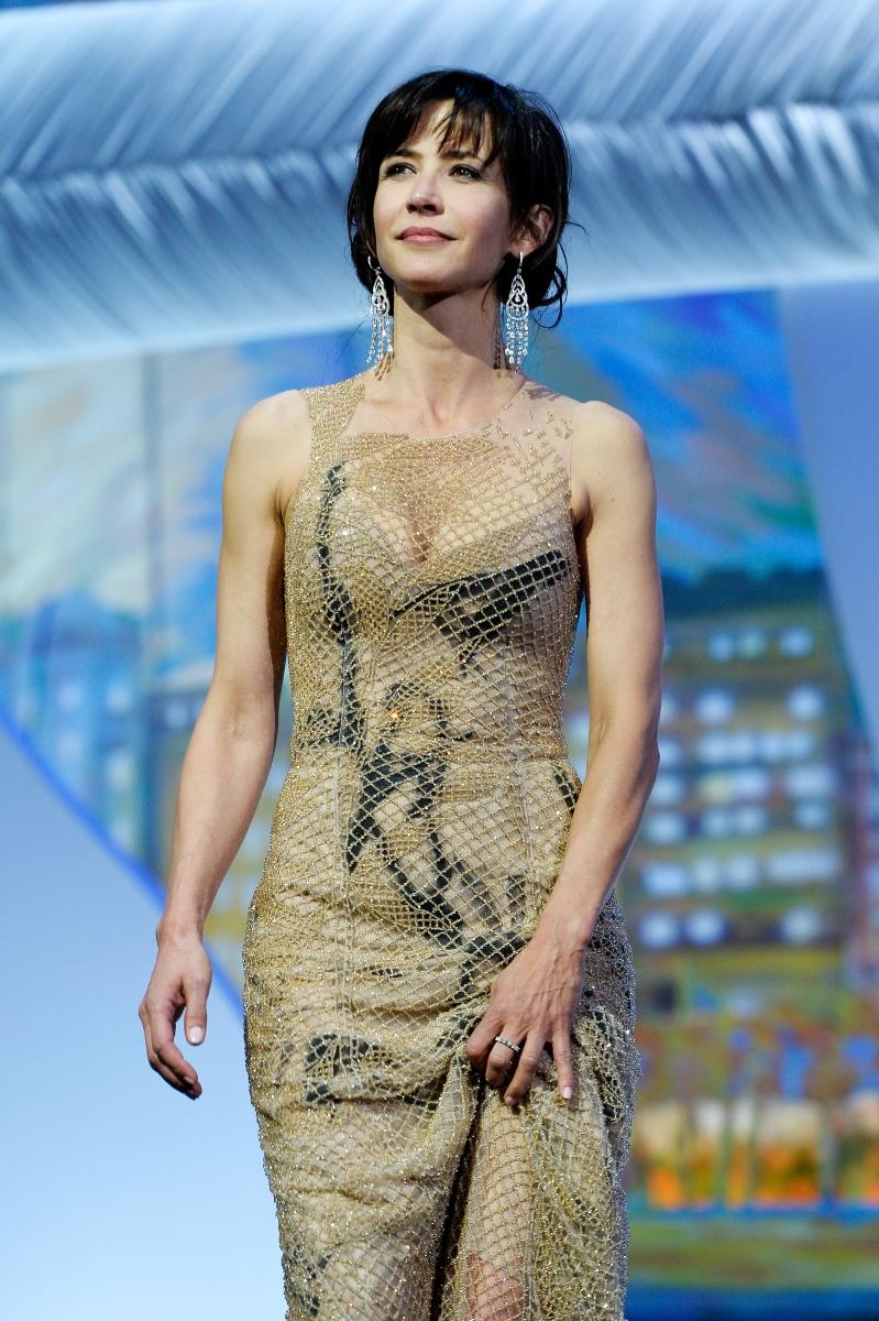 Софи Марсо. Френската актриса е еталон за финес и стил.