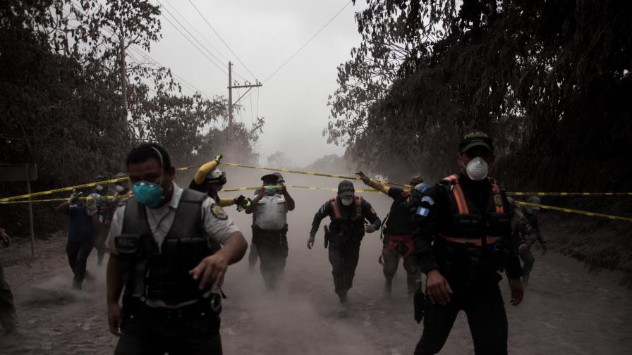 69 са вече жертвите на изригналия Фуего в Гватемала