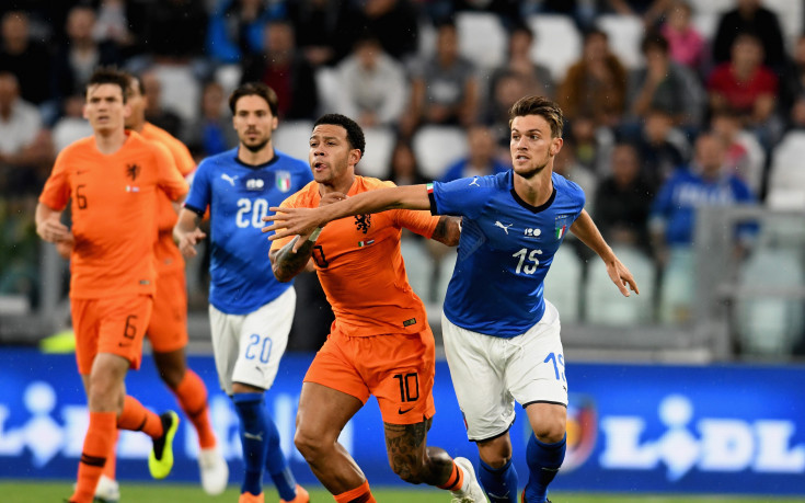 С 10 човека Италия не удържа успеха срещу Холандия