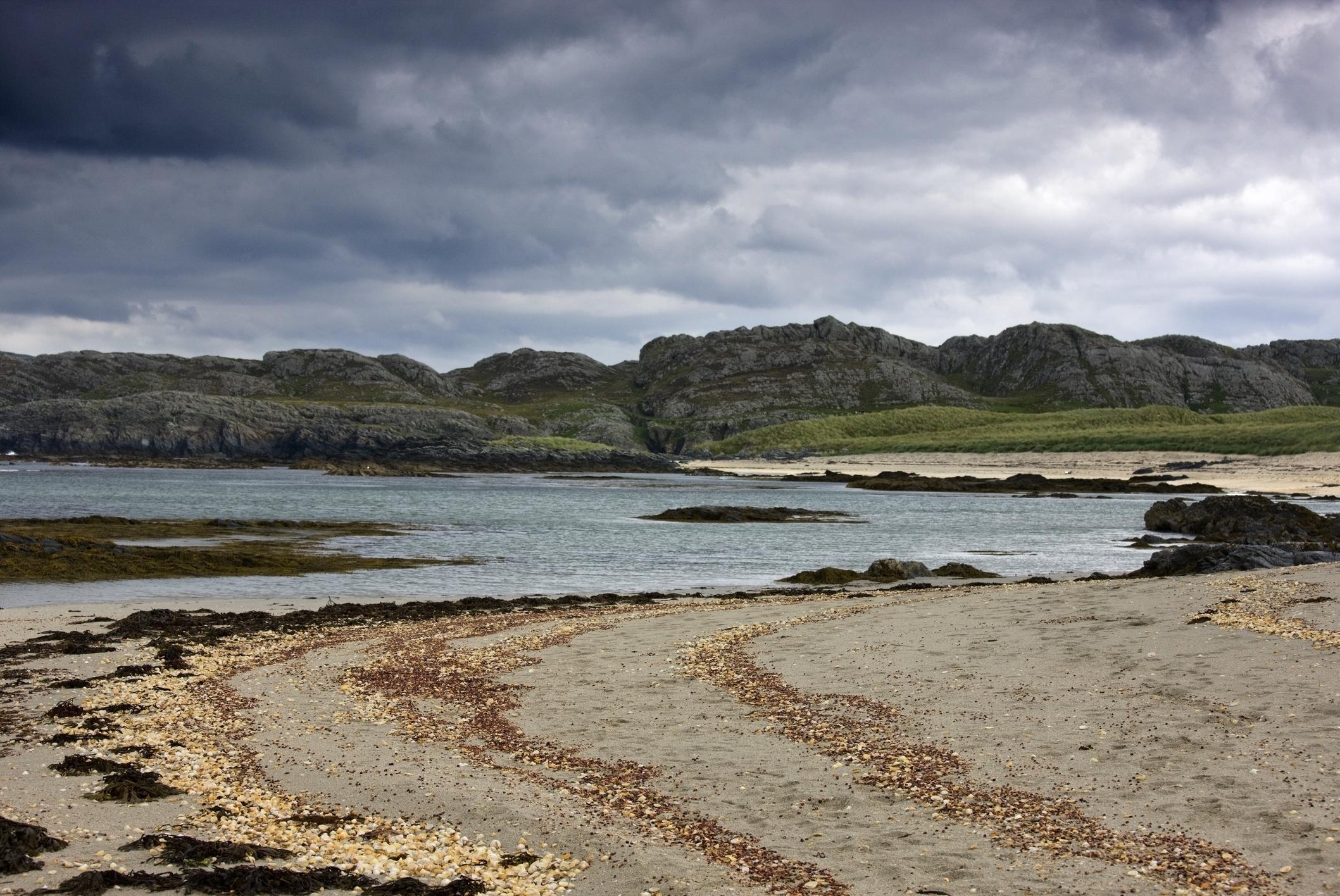Колонсей, Шотландия - aко търсите тихо място, в което да се почувствате в съзвучие с природата, този отдалечен север остров е идеалното място.