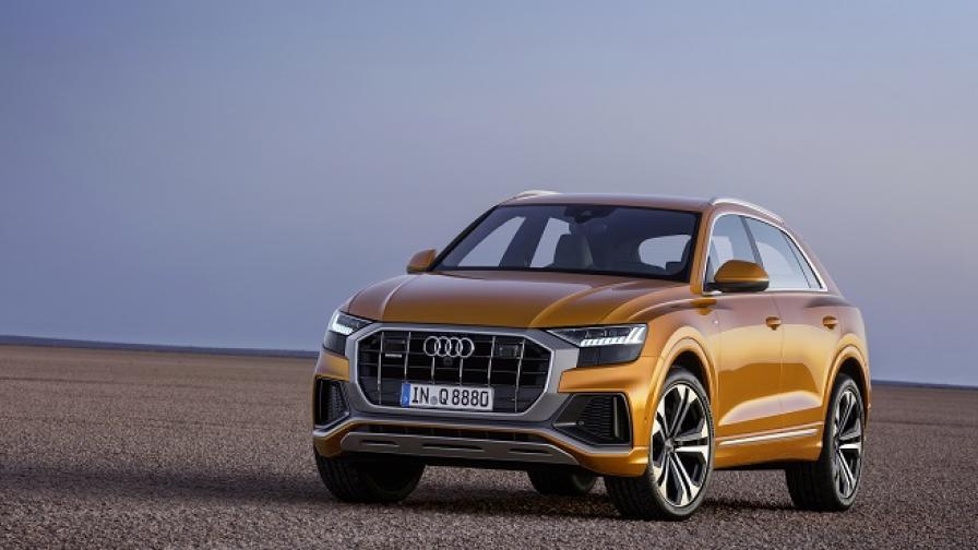 Новото Audi Q8 залага на агресията