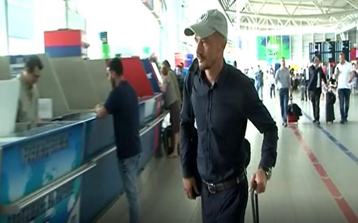Ексклузивно видео: Ел Маестро дойде за подпис с ЦСКА