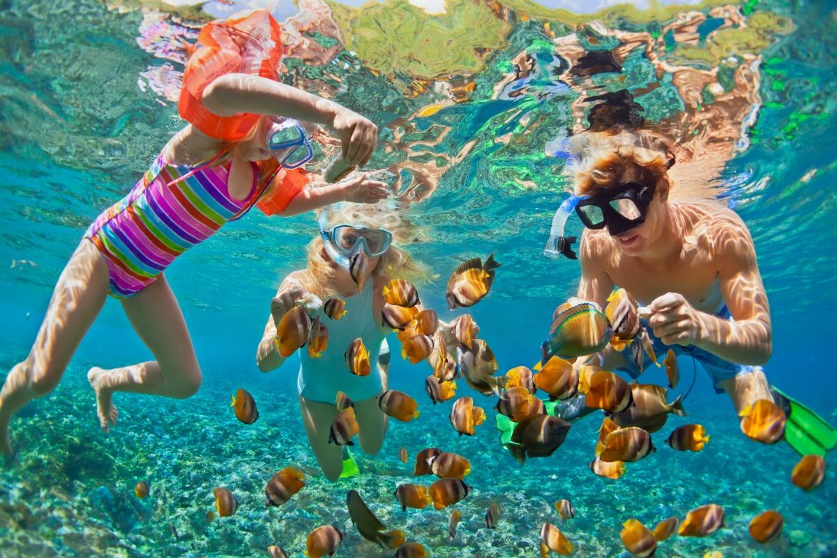 Проучете какви атракции са предложени специално за деца - уроци по плуване или други полезни за тях дейности.