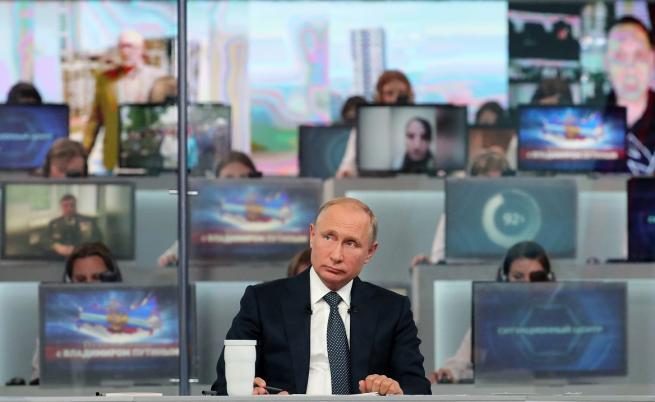 Владимир Путин остро критикува САЩ, поиска достъп до Юлия Скрипал